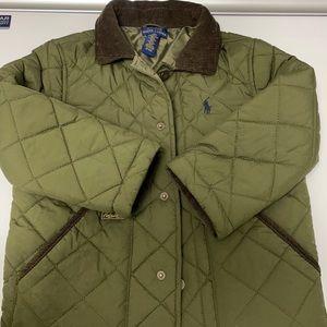 Boys Ralph Lauren polo jacket hunter green
